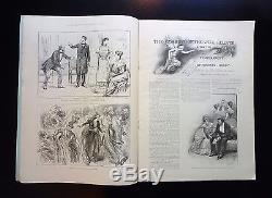 1891-1892 Les Nouvelles Illustrées Du Monde 38 Numéro Lot London News Blocks, Ads