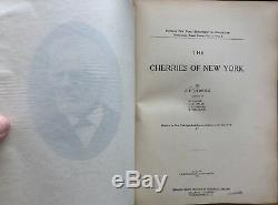 1915 Les Cerises De New York Par U. P. Hedrick Assortiment De Couleurs De Couleurs Magnifiques Nice L @@ K