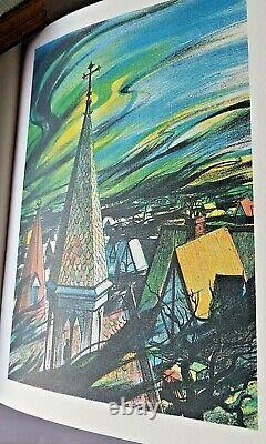 (1986) La Guerre Des Mondes De Hg Wells Easton Press Leather Bound Nouveau
