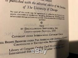 1990 Grands Livres Du Monde Occidental Ensemble Complet 54 Volumes Comme Neuf