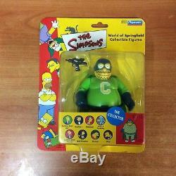 2001 Le Monde Des Simpson De Springfield, Figurines À Collectionner Le Collectionneur -nouveau