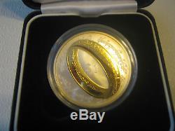 2003 Nouvelle-zélande Seigneur Des Anneaux 1 Dollar En Argent