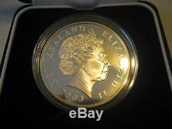 2003 Nouvelle-zélande Seigneur Des Anneaux 1 $ Proof Silver Dollar Coin
