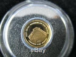 2011 $ 5 Îles Salomon Nouvelles 7 Merveilles Du Monde Seulement 6 Pièces Sur 7