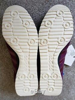 Adidas Originals Jeans Saveurs Des Formateurs Du Monde Taille 10.5 Nouveau Étiquetée Boxed