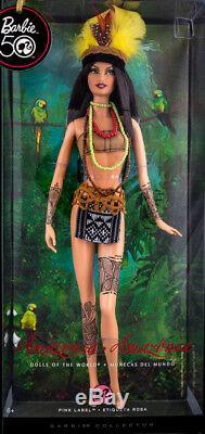 Amazonia Barbie Poupée De La Rivière Monde Amérique Du Sud Amazon Nouveau