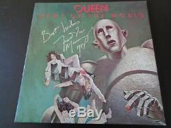 Autographe Queen Freddie Mercury Des Nouvelles Du Monde Lp Une Superbe Signature, Epperson