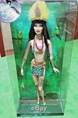 Barbie Amazonia Dolls Du Monde Nrfb Pink Label Nouvelle Collection Muse Modèle