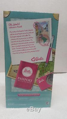 Barbie Brésil / Poupées Du Monde Label Rose / 2011 / Nouveau Nrfb