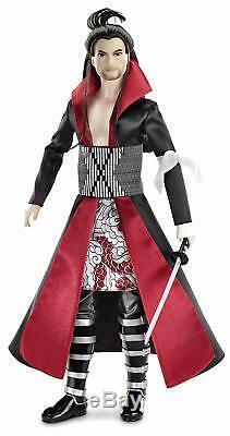 Barbie Collector Dolls Du Monde Japon Ken Samurai Mattel -brand New- Nrfb