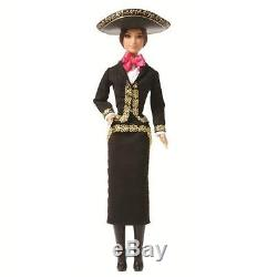 Barbie Mexico Poupées Mariachi Du Monde 2014 Nouveau Nrfb