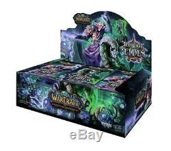 Boite De Boosters Du Nouveau Trône Scellé Des Marées Packs Du World Warcraft Wow Tcg Ccg 36