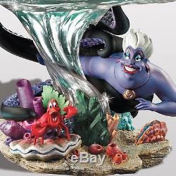 Bradford Exchange Disney La Petite Sirène De Son Monde Ariel Ursula Nouveau