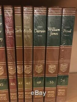 Britannica Grands Livres Du Monde Occidental 1978 Ensemble Partiel De 42 Comme Neuf