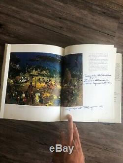 Centre Epcot Walt Disney Créer Le Nouveau Monde De Demain Signé Par Herbert Ryman