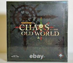 Chaos In The Old World Fantasy Flight Games Flambant Neuf Et Scellé! Épuisé