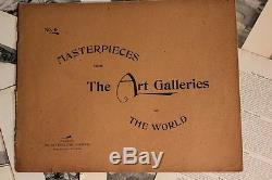 Chefs-d'œuvre Des Galeries D'art Du Monde -190 Gravures -new York 1896-rare
