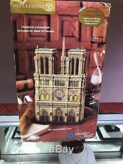 Dept 56, Cathédrale Notre-dame Églises Du Monde, New (voir Détails)