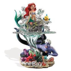 Disney La Petite Mermaid Ariel Partie De Son Monde Sculpture Nouveau