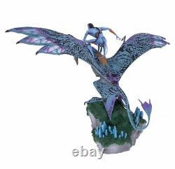 Disney Parks Pandora Le Monde D'avatar Jake Riding Banshee Figurine Nouveau