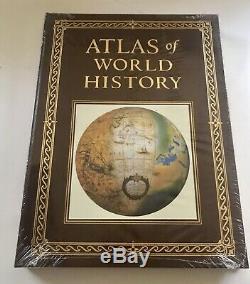 Easl Atlas De Presse Du Monde Historique Cuir Scelle Neuf