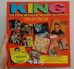 Elvis Presley Coffret Rca Roi De Tout Le Monde 1997 Rare (nouveau)