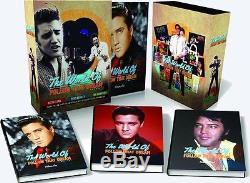 Elvis Presley Le Monde Of'suivez That Dream 3 Set De Livres Neuf Et Scellé Derniers Set