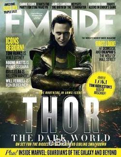 Empire Octobre 2013, Thor Le Monde Des Ténèbres, Loki God Of Mischief, Tom Hiddleston Nouveau