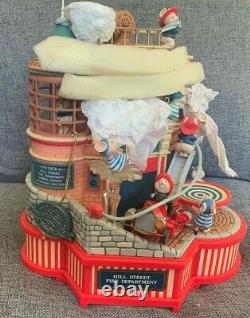 Enesco Small World Of Music Where's The Fire New Vintage Musical Box