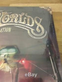 Ensemble De Vinyles Nouvelle Génération De La Guerre Des Mondes
