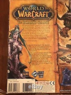 Fantasy Flight 2005 World Of Warcraft Le Jeu De Plateau Vérifié Et Complété Nouveau
