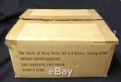 Harry Potter Trading Cards 3d Box 2e Édition Nouvelle 2008 Le Monde De HP Amricon