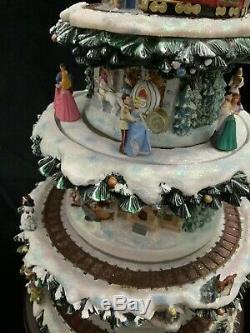 Hawthorne Village Le Monde Merveilleux De Disney Christmas Tree Nouveau
