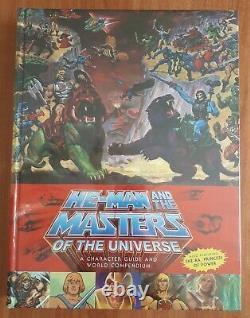 He-man Et Les Maîtres De L'univers Guide World Compendium Nouveau Et Scellé