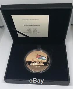 Jordanie, Médaille Le Cinquantième Anniversaire De (guerre De Karama) 2018 Nouvelle Communiqué