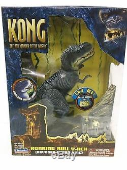 Kong 8ème Merveille Du Monde Roaring Bull V Rex Playmates 2005 Nouveau Sealed