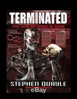 La Fin De Terminated L'homme Est ICI Par Stephen Quayle Broché Brand New