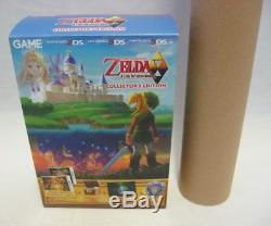 La Légende De Zelda Un Lien Entre Worlds Collector Edition Limitée Nouveau 3ds