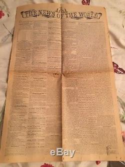 La Nouvelle Du Monde Première Édition Le 1er Octobre 1843