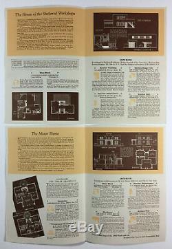La Ville De Demain Ensemble De 15 Mondes Design House Brochures Fair De New York 1940