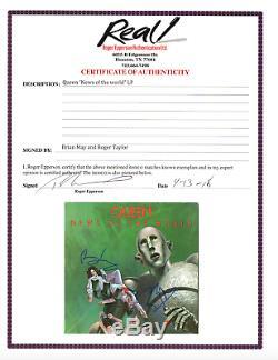 Le Groupe De Reines A Signé Un Album De News Of The World Autographié May Taylor Epperson Loa