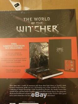 Le Monde De La Marque Compendium Édition Limitée Witcher Nouveau Et Scellé