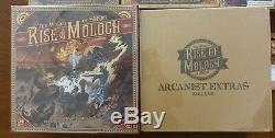 Le Monde De Smog Rise Of Moloch Compete Boardgame Art Nouveau Livre Kickstarter