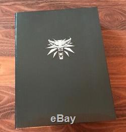 Le Monde Du Jeu Vidéo The Witcher Compendium Limited Edition Anglaise Nouveau
