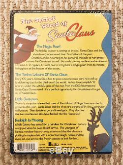Le Monde Secret Du Père Noël Vol. 1 DVD De Noël Animé Oop Rare Brand New