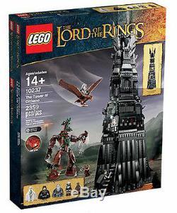 Lego Seigneur Des Anneaux La Tour D'orthanc (10237). Tout Neuf. Ebay Global Ship