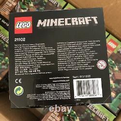 Lego Set 21102 Minecraft Micro Idées Du Monde La Forêt Cuusoo Case De 6 Nouveau