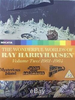 Les Mondes De Magnifiques Ray Harryhausen Volume 2 1961-1964 Bluray Box Set Nouveau