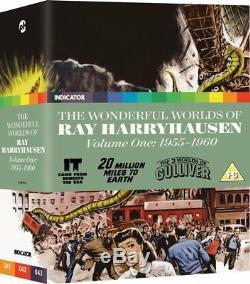 Les Mondes Magnifiques De Ray Harryhausen 1 & 2 1955 -1964 (blu-ray) Neuf