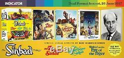 Les Mondes Merveilleux De Ray Harryhausen 1 Et 2 + La Trilogie De Sinbad (blu-ray) Nouveau